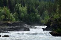 Выезд в Норвегию, 2013. р. SJOA. Воды не мало.