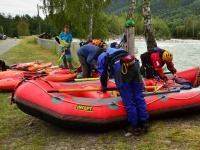 Выезд в Норвегию, 2013. р. SJOA, на Take out_e , на рафтовой базе.