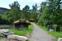 Выезд в Норвегию, 2013. р. SJOA. Рафтовый центр.
