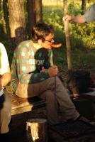 Август. Родео-сборы в Финляндии( Лиекса ), 2011г. Вкуснейшие сосиджи( нужно брась только с сыром - они сочные)