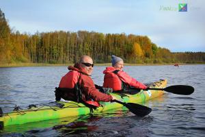 На фото: Осень на оз. Любимовское
