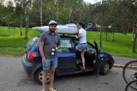 Родео-сборы в Финляндии(Лиекса)2012, август. По дороге в Лиексу