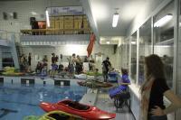 """ГК """"Каякер"""". Клубное первенство по фристайлу на гладкой воде. Начало соревнований."""