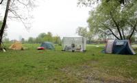 Весенняя фристайл-сессия  в Германии, 2015. Наш лагерь. Приехали первыми.