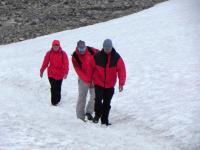 Выезд в Норвегию, 2013. Восхождение на самую высокую вершину Норвегии.