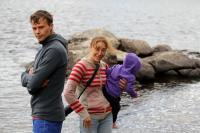 Июльские родео-сборы в Финляндии(Лиекса). Рита в няньках пока родители на тренировке.