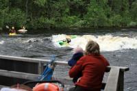 УТС в Финляндии(Лиекса) 2012. Мама бдительно наблюдает за достижениями сына
