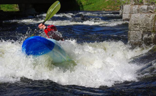 1-й этап кубка North Karelia freestyle paddling cup 2012. Выступление мужчин.
