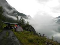 Выезд в Норвегию, 2013. На фьорде.