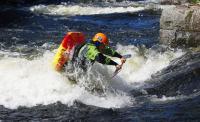 1-й этап кубка North Karelia freestyle paddling cup 2012. Выступление мужчин. Loop в исполнении Juuso