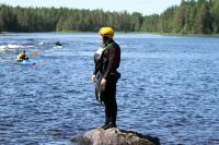Июльские РОДЕО-СБОРЫ в Финляндии(Лиекса). Денис изучает заход.