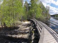 Майские родео-сборы в Финляндии. Уровень воды поражает. Такого и не припомнить.