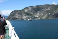 Выезд в Норвегию, 2013.  На паромчике