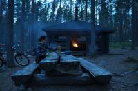 Родео-сборы в Финляндии(Лиекса)2012, август. Ночи уже темные.