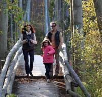 Родео-сборы в сентябре 2012, Финляндия(Лиекса). Прогулки по подвесному мосту