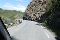 Выезд в Норвегию, 2013. Едем на р. Etna
