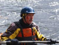 Ежегодный выезд в Норвегию, 2012г. Самое серьезное повреждение за всю поездку и именно на р. Атна