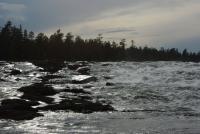 ШВЕЦИЯ, Piteälven (Trollforsarna), 2012. Слайд