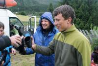 Ежегодный выезд в Норвегию, 2012г. Лечение тапочками.