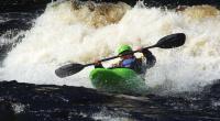 2-й этап кубка North Karelia freestyle paddling cup 2012. Выступление девушек.