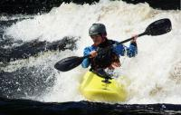 2-й этап кубка North Karelia freestyle paddling cup 2012. Выступление девушек.