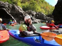 Осенний Кавказ 2013, учебно-тренировочный выезд. Гранитный каньон верхняя секция.