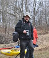 КОС 2012 на р. Мга. А вот и наш фоторепортер Станислав Матвеев.