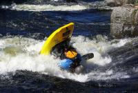 1-й этап кубка North Karelia freestyle paddling cup 2012. Выступление девушек.