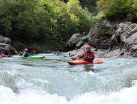 Осенний Кавказ 2013, учебно-тренировочный выезд. Гранитный каньон, верхняя секция.