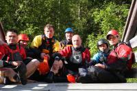 Ежегодный выезд в Норвегию, 2012г. Традиционно, на этом деревянном мосту мы делаем групповую фотку.