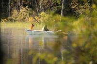 Родео-сборы в сентябре 2012, Финляндия(Лиекса).Народа в кемпинге было мало, и только неутомимые рыбаки составляли нам компанию.