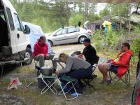 Выезд в Норвегию 2013года. Традиционная стоянка на р Сетнинга.