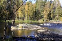 Родео-сборы в сентябре 2012, Финляндия(Лиекса). Рыбаки заняты своим делом.