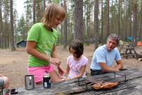 РОДЕО-СБОРЫ в Августе 2013, Финляндия(Лиекса). А вот и результат рыболовных подвигов Витилика.