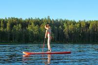 Июльские родео-сборы, Финляндия(Лиекса). Развлекушки на SUP