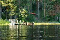 Июльские родео-сборы, Финляндия(Лиекса). Виды в районе кемпинга. Вечер.