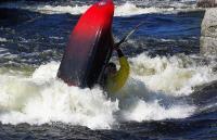 1-й этап кубка North Karelia freestyle paddling cup 2012. Выступление девушек.