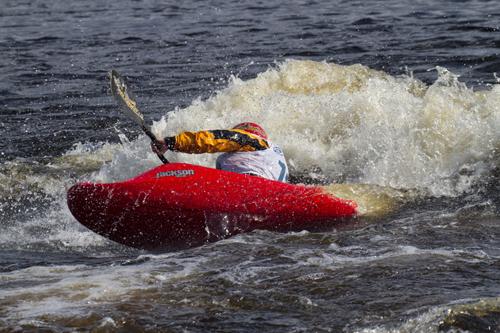 На фото: 2й этап КР. Анна Орлова